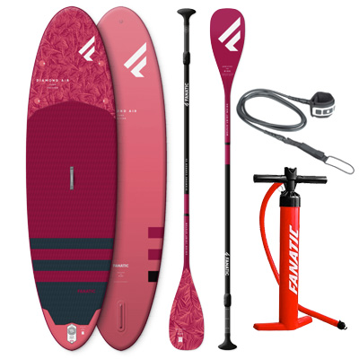 Fanatic Diamond Air 2020 - SUP Package - The Zu Boardsports