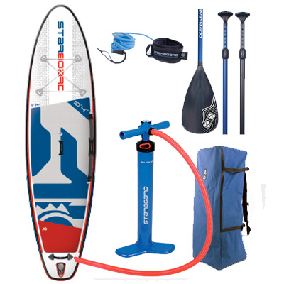 Starboard iGo Inflatable SUP - The Zu Boardsports